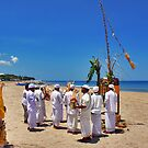 Ceremony on the beach by Adri  Padmos