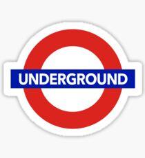 LONDON UNDERGROUND Sticker