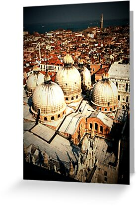 St Mark's Basilica from the Campanile by Richard Pitman
