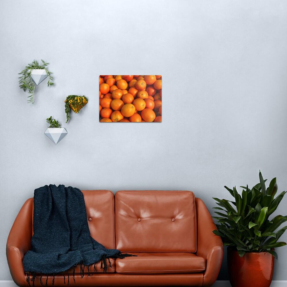 Food - maroc oranges Metal Print
