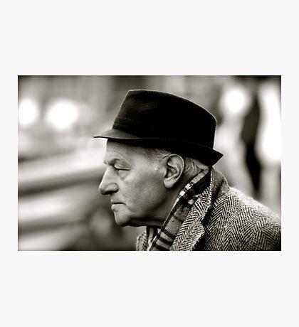 Venetian gentleman Photographic Print