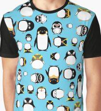 Kennen Sie Ihre Pinguine Grafik T-Shirt