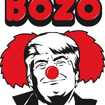 BOZO THE PRESIDENT - ELECT A CLOWN - EXPECT A CIRCUS by NotYourDesign