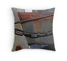Crusty Old Rust Throw Pillow