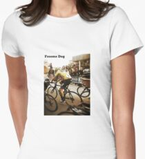 Froome Dog Women's Fitted T-Shirt