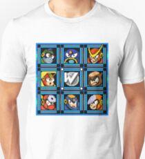 Megaman 2 Boss Select T-Shirt
