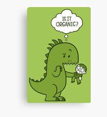 Organic Dinosaur Canvas Print