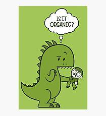 Organic Dinosaur Photographic Print