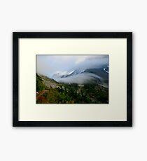 Encroaching Clouds Framed Print