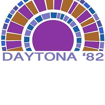 Daytona Beach Modern Vintage/Retro original design by challisandroos