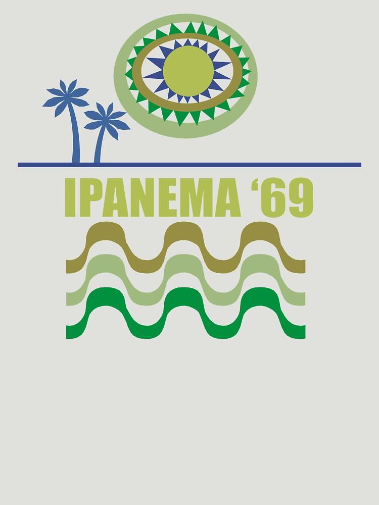 Ipanema Modern Vintage/Retro original design by challisandroos