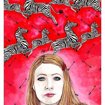 The Royal Tenenbaums - Margot Tenenbaum von MichelleEatough