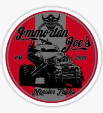 Imm. Joe's monster trucks Sticker