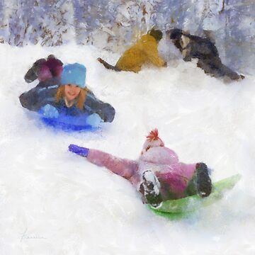 Snow Fun by Francesa