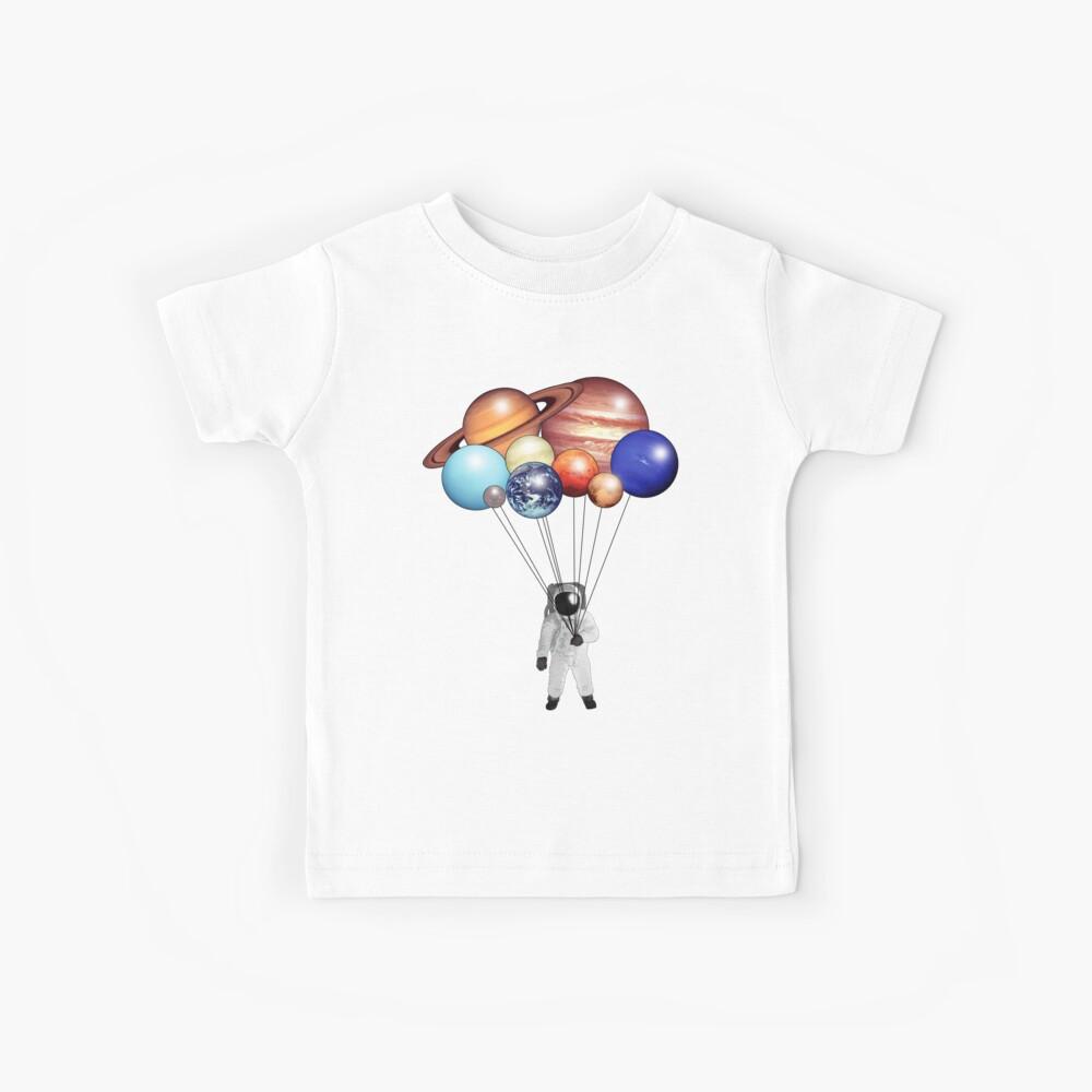 Astronaut Balloons Kids T-Shirt