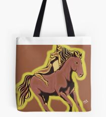the horse one and she is one of the beauties of nature Tote Bag