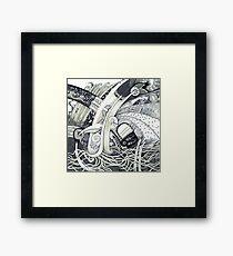 Muddle Framed Print