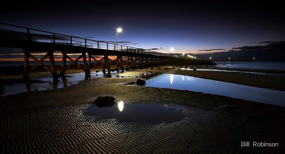 Moonta Bay Jetty by Bill  Robinson