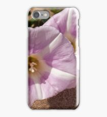 Sea Bindweed Flowers iPhone Case/Skin