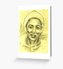 Study of Hyacinth Yun Greeting Card