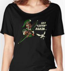 Say Listen Again Women's Relaxed Fit T-Shirt