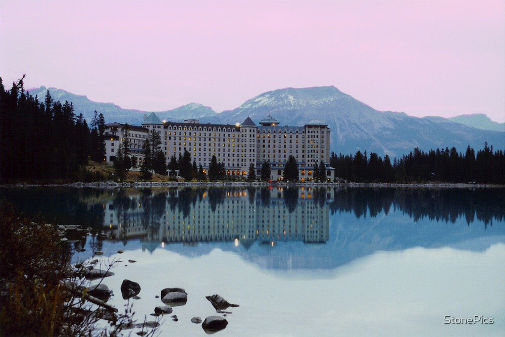Reflections- Chateau Lake Louise by StonePics