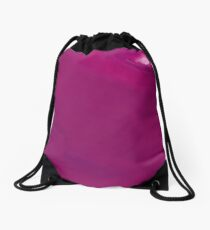 Purple Stream - a Abstract expressionism Drawstring Bag