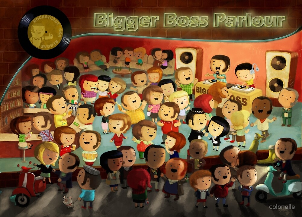 Bigger Boss Reggae Party by colonelle