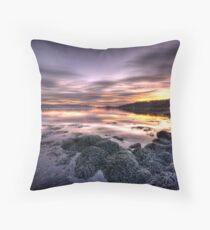Clyde Sunrise Throw Pillow