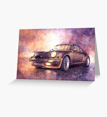 Porsche 911 Turbo 1979 Greeting Card