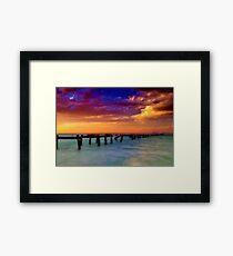 """""""Evening Impressions"""" Framed Print"""