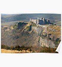 Carreg Cennen Castle in Carmarthenshire Poster