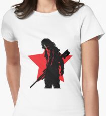 The Winter Silhouette Women's Fitted T-Shirt