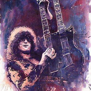 Jimmy Page  by shevchukart