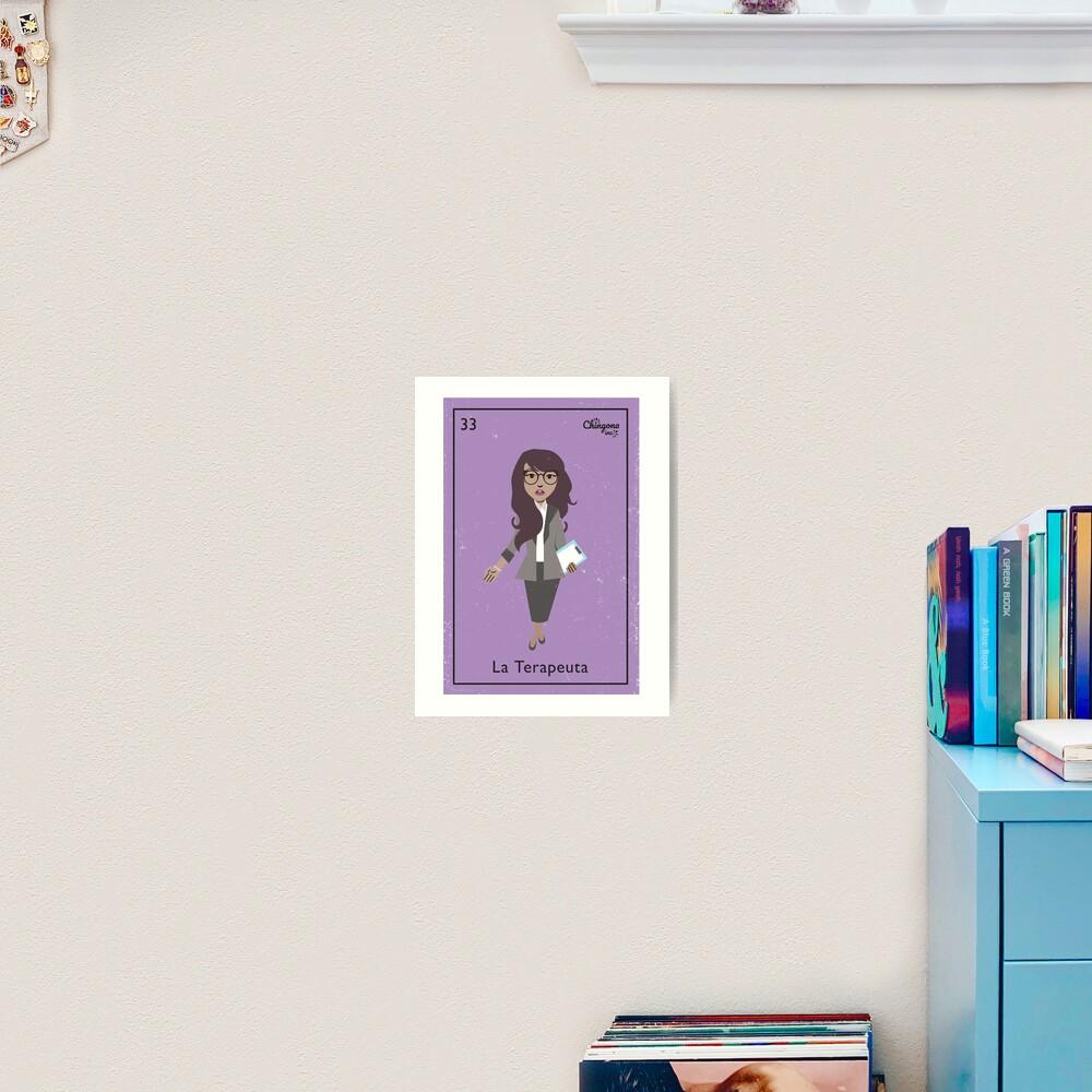 La Terapeuta Art Print