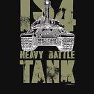 IS4 HEAVY BATTLE TANK by PANZER212