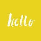 Hello x Sunshine Script by Leah Flores