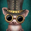 Steampunk-Babyschwein von jeff bartels