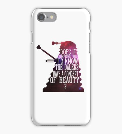 A Concept of Beauty... iPhone Case/Skin