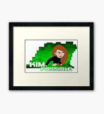 Kim Possible  Framed Print