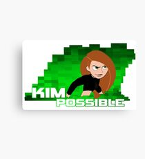 Kim Possible  Canvas Print