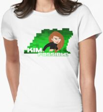 Kim Possible  Women's Fitted T-Shirt