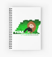 Kim Possible  Spiral Notebook