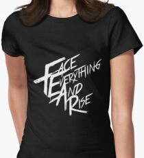Papa Roach - Face Everything And Rise Womens Fitted T-Shirt