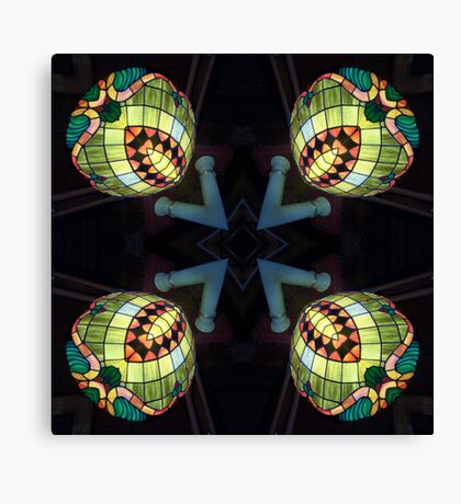 Orbes of Light Canvas Print