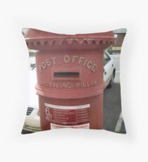 Letterbox in older style Throw Pillow