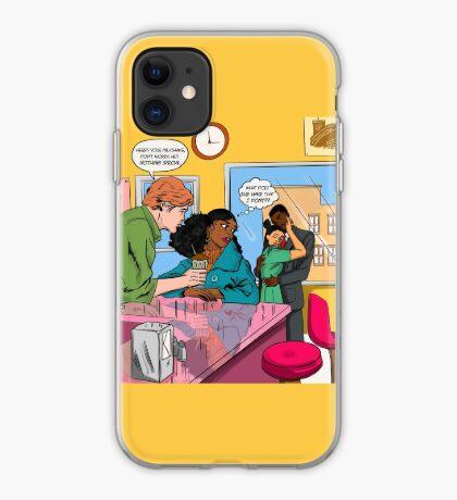 Milkshake Blues iPhone Case