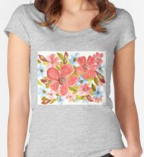 Blooms Women's Fitted Scoop T-Shirt