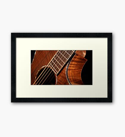 USA Breedlove - Bespoke Custom Series Framed Print