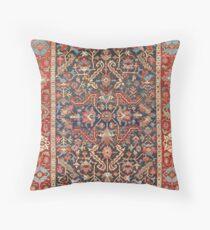 Antiker Blumen Persischer Teppich Dekokissen